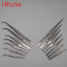 Electronic Repair Tweezers Medical-Extension High-Precision Stainless-Steel Long Multi-Popuse