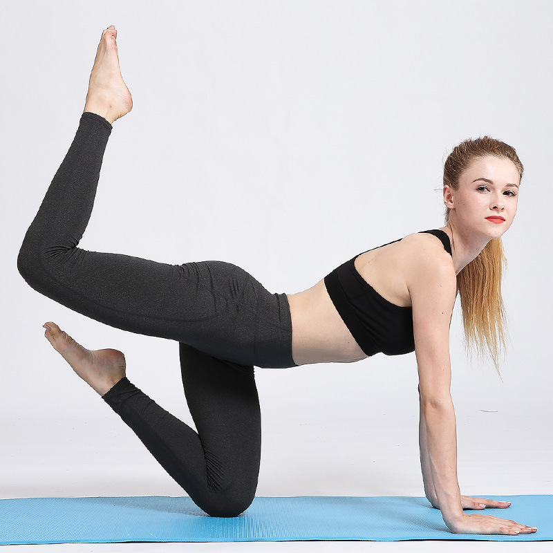 New Kind of Sports Fitness Tight Yoga Pants Quick drying High Stretch Yoga Fitness Pants in Yoga Pants from Sports Entertainment