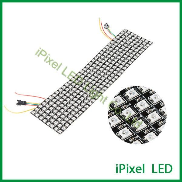 8*32 Pixel RGB digital ws2812b led pixel flexible led screen самокат trolo pixel