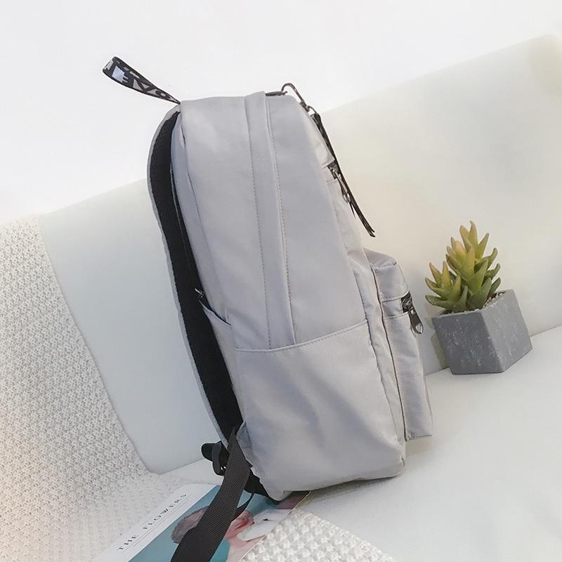 2019 New Campus Women Backpack School Bag for Teenagers College Backpacks Gilrs Female Bagpack Back Packs Bolsas Mochila Zipper in School Bags from Luggage Bags