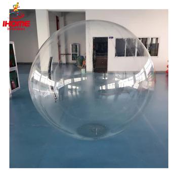 JIA INF edycja limitowana piłka wodna zabawki wodne piłka taneczna bombka przezroczysta tanie i dobre opinie JIAINF 8 lat Woda spaceru piłkę IN-08 WATER WALKING BALL 1 3m-3m