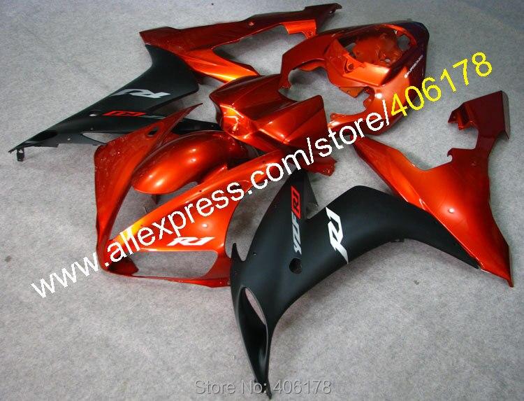 Sıcak satış, ucuz vücut kiti için yamaha yzf r1 yzf1000 04-06 yzf r1 2004-2006 yzf-1000 r1 motosiklet fairing (enjeksiyon)