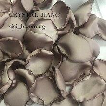 Wedding Rose Petals Soft Flower Girl Petal Satin 100 pieces /Lot