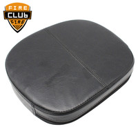 Universal Synthetic Leather Motorcycle Backrest Cushion Pad For Harley Touring Road King Street Electra Glide FL FLHT FLHX