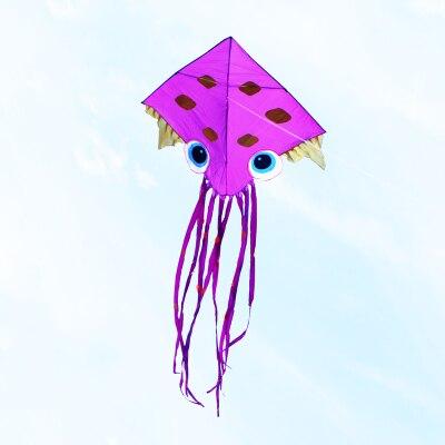 Высокое качество deisgn Осьминог змеи 10 шт./Партия Детские воздушные змеи в виде рыб Распродажа с ручкой линии Открытый игрушки летающий Вэй