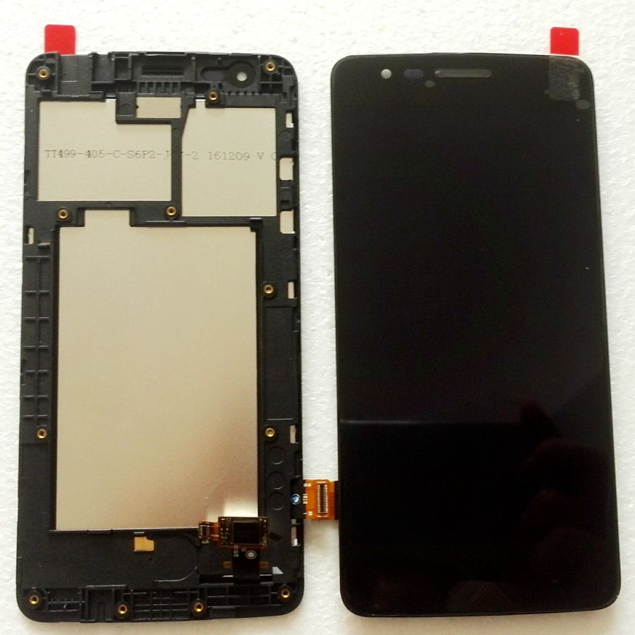 2017 For LG K8 Dual sim X240K X240 X240H X240F LCD Screen Display+digitizer Touch Glass Frame Full Replacement Pantalla2017 For LG K8 Dual sim X240K X240 X240H X240F LCD Screen Display+digitizer Touch Glass Frame Full Replacement Pantalla