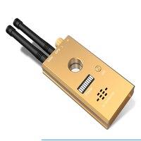 كاشف إرسال إشارة لاسلكي عالي الحساسية مع GSM وهوائي مزدوج GPS مع إنذار صوتي وكاميرا مسح بالأشعة تحت الحمراء وامض-في جهاز كشف الكاميرات الخفية من الأمن والحماية على