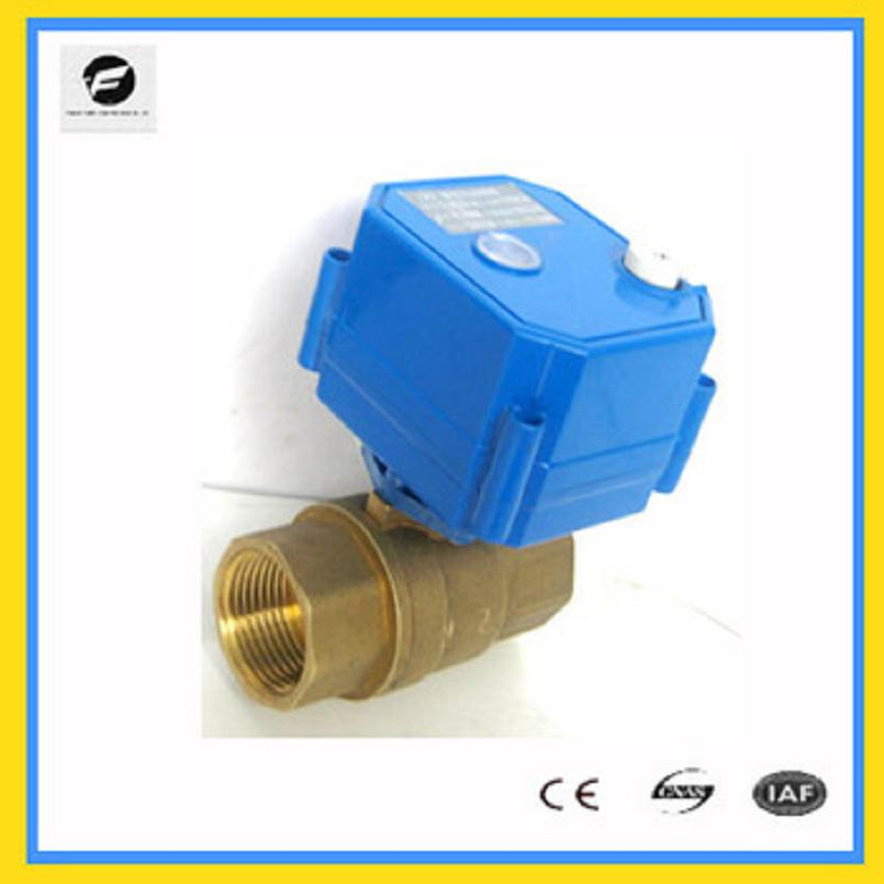 Ventil Sanitär UnermüDlich Cwx-25s Dn15 1/2 messing Bsp 2-wege Motorisierte Wasserventil Mit Handbetätigung Elektrischen Regelkugelhahn Dc3-6v Dc12v Dc24v Das Ganze System StäRken Und StäRken