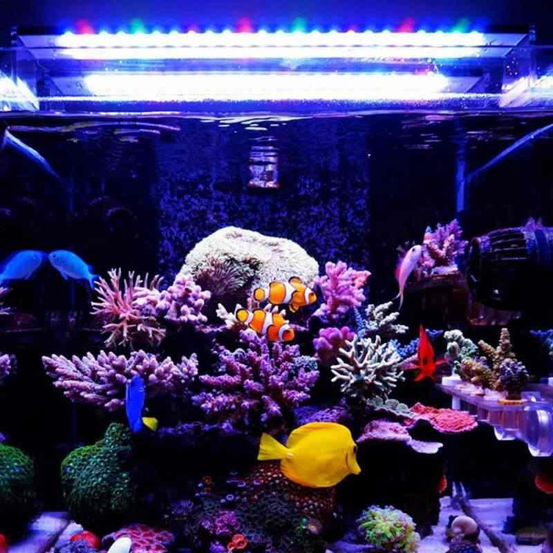 AC100-240V Chihiros 60CM światła led do wzrostu roślin 5730 117smd 4600lm serii mini krótkie akwarium 8000k
