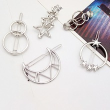 Geometric  Knot Barrettes Clips for Women Hair Side Bobby Pins Ponytail Hairpins Girls Metal Hair clips Hair Accessories fashion hairpins accessories plated clips hair pin ponytail