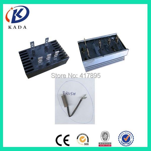 Professional Sale Customization! Stc-5kw~stc-10kw 10a Bridge Stc-20kw 20a Bridge Stc-5kw ~ Stc-30kw Carbon Brush Free Shipping To Peru