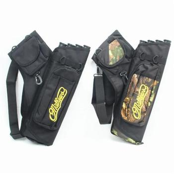 Mounchain hunting Arrow bag 4 Tubes Arrow Quiver for Archery Hunting Arrows Holder Bag with Adjustable Strap