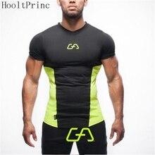 HooltPrinc New 2017 Men's Superman Singlets t-shirt Bodybuilding Fitness Men's Golds Stringer t shirt Clothes