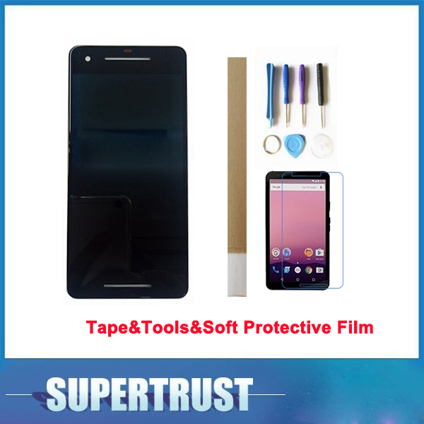 1080*1920 5.0 For Google Pixel 2 LCD Display+Touch Screen Assembly Black Color with tools&Tape&Soft Protective Film1080*1920 5.0 For Google Pixel 2 LCD Display+Touch Screen Assembly Black Color with tools&Tape&Soft Protective Film