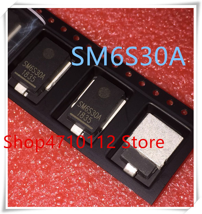 NEW 10PCS/LOT SM6S30A SM6S30AHE3/2D DO-218AB IC