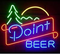 Gift Point Beer Glass Neon Light Sign