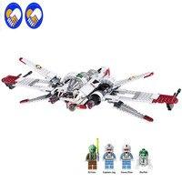LELE 35004 Star Wars Captain Jag Clone Pilot R4 P44 ARC 170 Fighter Assembled Toy Building