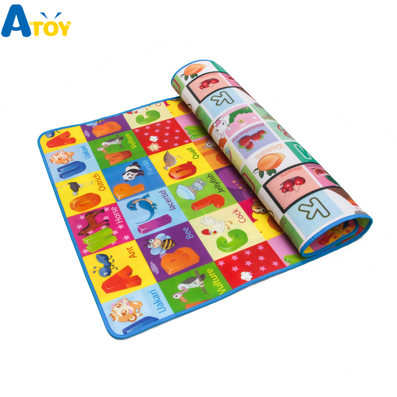 Baby Todder Playmat Kid Play Mat Pad Puzzle Foam Mat Children's Development Crawling Pads Carpets Rug  Kids Play Mat Double Side