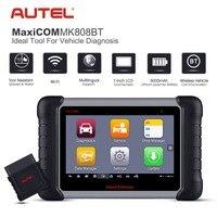Autel MaxiCOM MK808BT OBD2 сканер диагностический инструмент, с MaxiVCI поддерживает Системы диагностики обновленной версии MK808