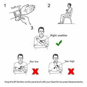Image 5 - ZOSS 영어 또는 러시아어 음성 커프 손목 혈압계 혈압 측정기 모니터 심장 박동 펄스 휴대용 Tonometer BP
