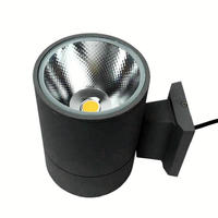15W Single head COB LED Wall Lamps Surface Mounted Wall Light Dimmable AC85V-265V Indoor&Outdoor Lighting