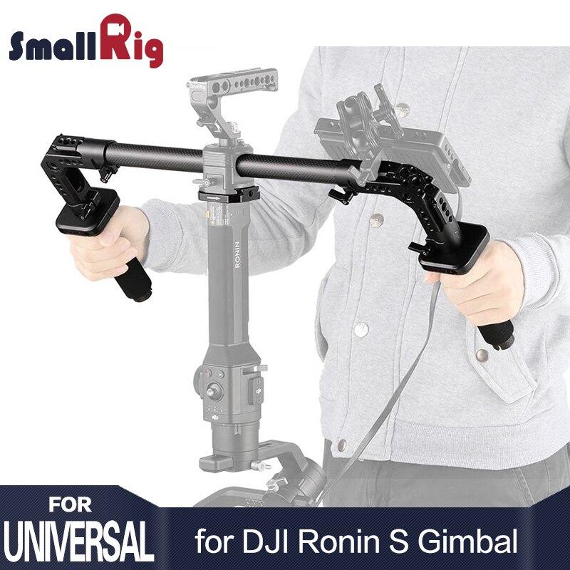 SmallRig DSLR камера стрельба двойной рукоятки для DJI Ронин S/Zhiyun кран серии ручные стабилизаторы свет Вес 2210