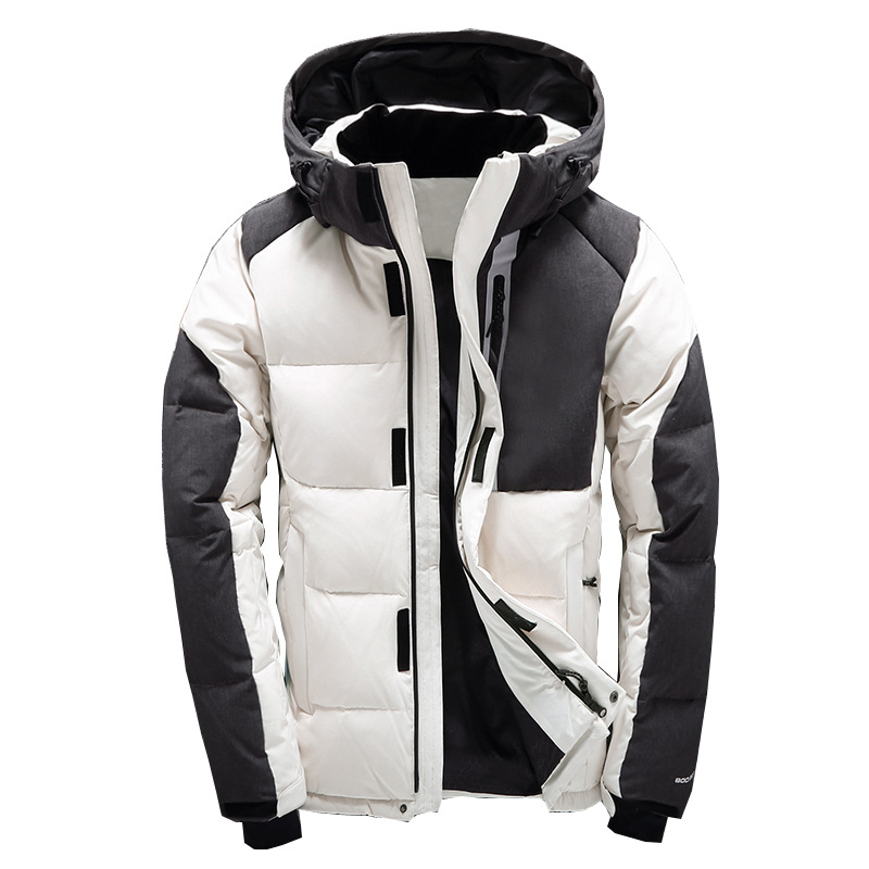 Men Winter Thick Duck   Down   Jacket Men Hooded   Down   waterproof snow   Coat   Warm Quality Male Casual Winter Outerwer   Down   Parkas