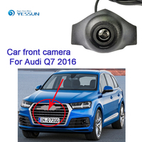 YESSUN Car Front View Camera for Audi Q2L 2018 for Audi Q7 2016 Forward Positive Camera Frim Installation Under the car Logo