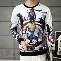 Classic Japanese anime Naruto sasuke/grim Reaper 3D impreso sudadera de dibujos animados mujeres de los hombres unisex con capucha harajuku sudaderas chaqueta