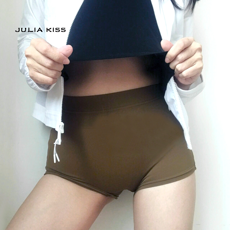Women Dance   Shorts   Spandex Lycra leisure   shorts   Elastic waist Female   shorts   fitness