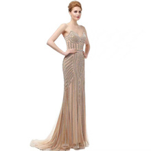 Vestido de mermaid evening dress dress for