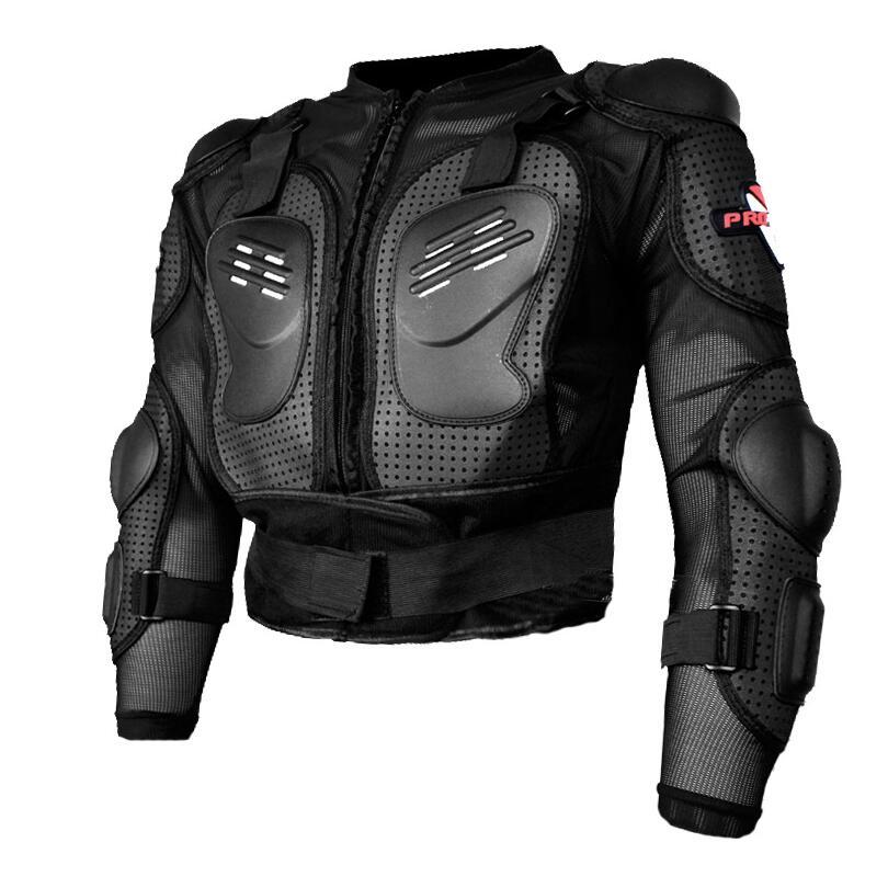 PRO-BIKER Armatura del motociclo Motocross Moto Corpo Armatura Del Motociclo di Protezione Guard Uomini Giacca Indietro Armatura di Protezione Abbigliamento