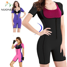 2019 Women Bodysuit Sauna Jumpsuit Waist Trainer Corsets Neoprene Body Shaper Slimming Full Shape Underwear Shapewear YG01