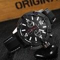 2016 Relojes de Marca de Lujo de Los Hombres Relojes Deportivos Hombres Reloj de Cuarzo de Silicona Casual Militar de Pulsera Horas horloges mannen