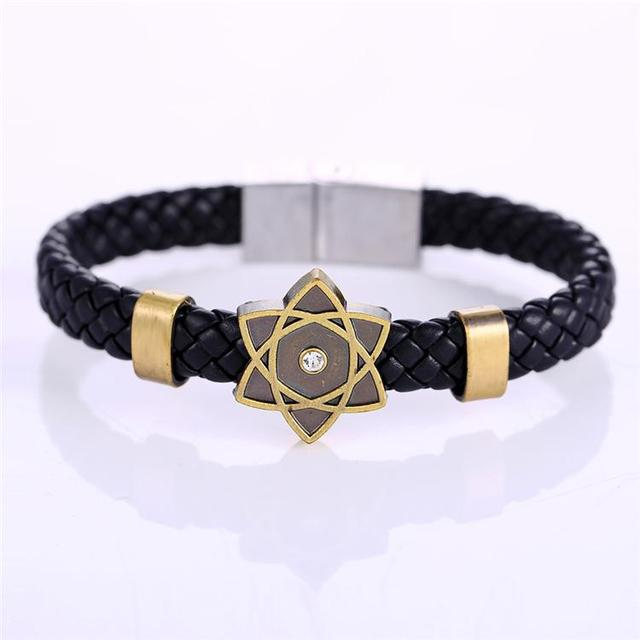 MJ Anime Jewelry Naruto Steel Bracelets