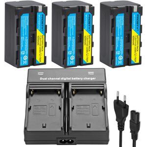 Image 5 - עבור sony NP F770 NP F750 NP F770 סוללה עבור sony CCD RV100 CCD RV200 SC5 TR940 TR917 מצלמה CN 216 CN 304 YN300 VL600 LED וידאו