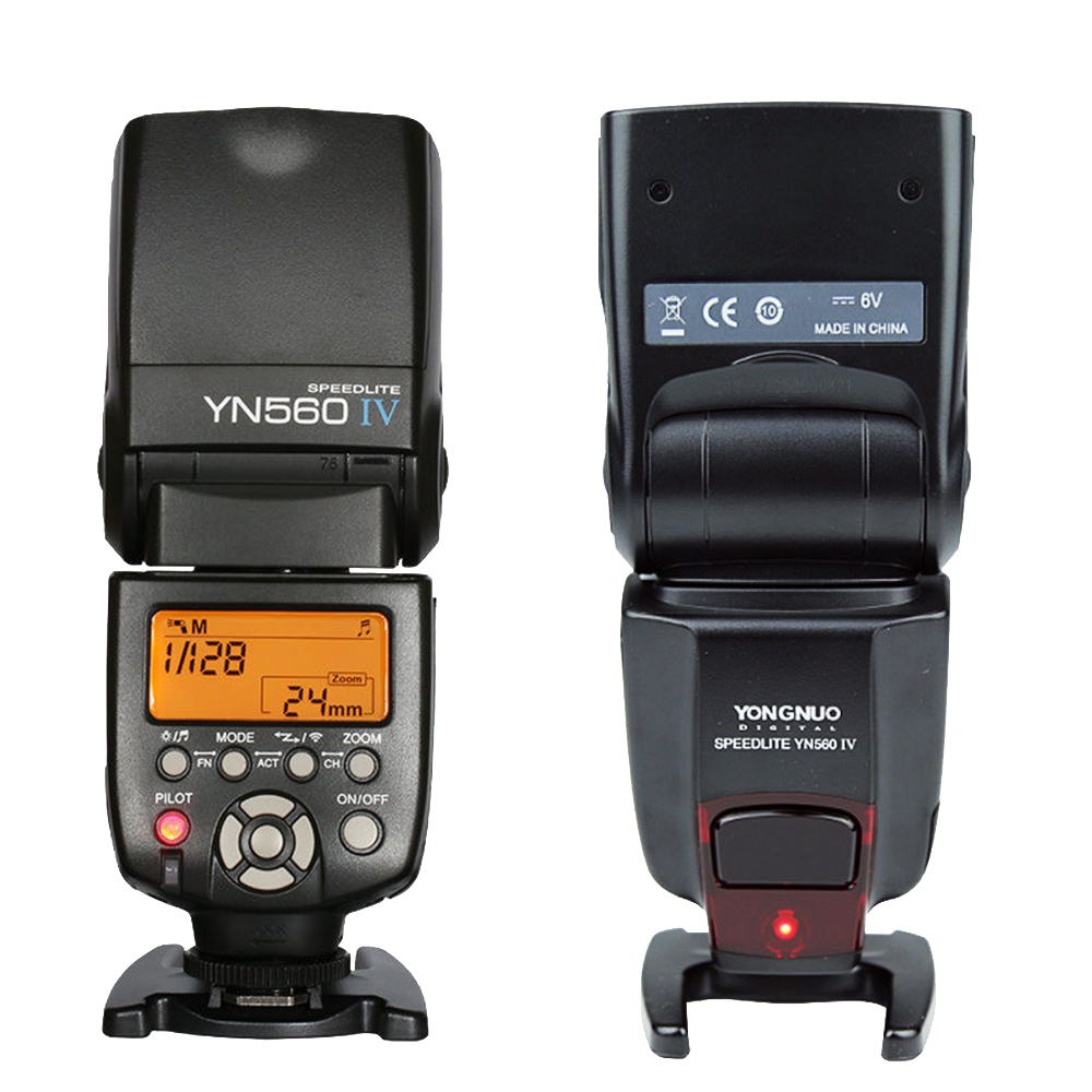 YONGNUO YN-560 IV YN560 IV Universal Flash Speedlite Speedlight For Canon Nikon Sony A99 A58 A6000 A3000 A7s A7 A7r A6300 A6300 yn e3 rt ttl radio trigger speedlite transmitter as st e3 rt for canon 600ex rt new arrival