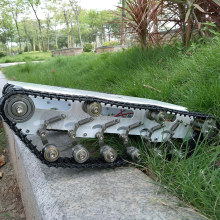 T750 гусеничный Танк из нержавеющей стали, робот-шасси, мобильный умный автомобиль, двойной склад, дизайн, высокая совместимость для DIY робота