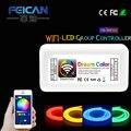 Mini Wifi LEVOU Controlador DC12-24V 10A 3CH/4CH RGB/RGBW CONDUZIU Controlador por Android e IOS APP Para SMD3528 5050 Tira CONDUZIDA luz