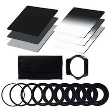 ND Filter Set ND2 ND4 ND8 G.ND2 G.ND4 G.ND8 Ring Adapter 49mm 52mm 55mm 58mm 62mm 67mm 72mm 77mm 82mm Filter Holder Filter Case стоимость