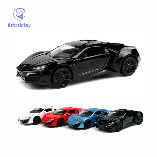 MINI AUTO Lykan Hyper The Fast And The Furious Sport Alloy - Hyper fast cars