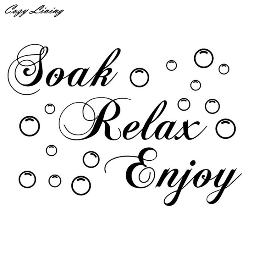 Wall Sticker Quotes 1 Pc Wall Sticker Decor Living Room Decals