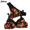 Julexy Sexy Marca 2016 de impressão Sem Costura mulheres sutiã BC conjunto Francês romântico de lady bra sets breve underwear thong panty set
