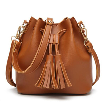 Fashion Bucket Shoulder Bags For Women 2020 Drawstring Crossbody Bag Female Messenger Bags Ladies PU Leather Handbag Sac Femme fashion woman bag leather crossbody bags for women messenger bags female shoulder handbag crossbody bags for women sac femme