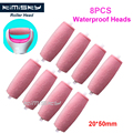 8Pcs Red Foot care tool roller Heads Kimisky pedicure herramientas hard roller Heads for scholls size Free Shipping