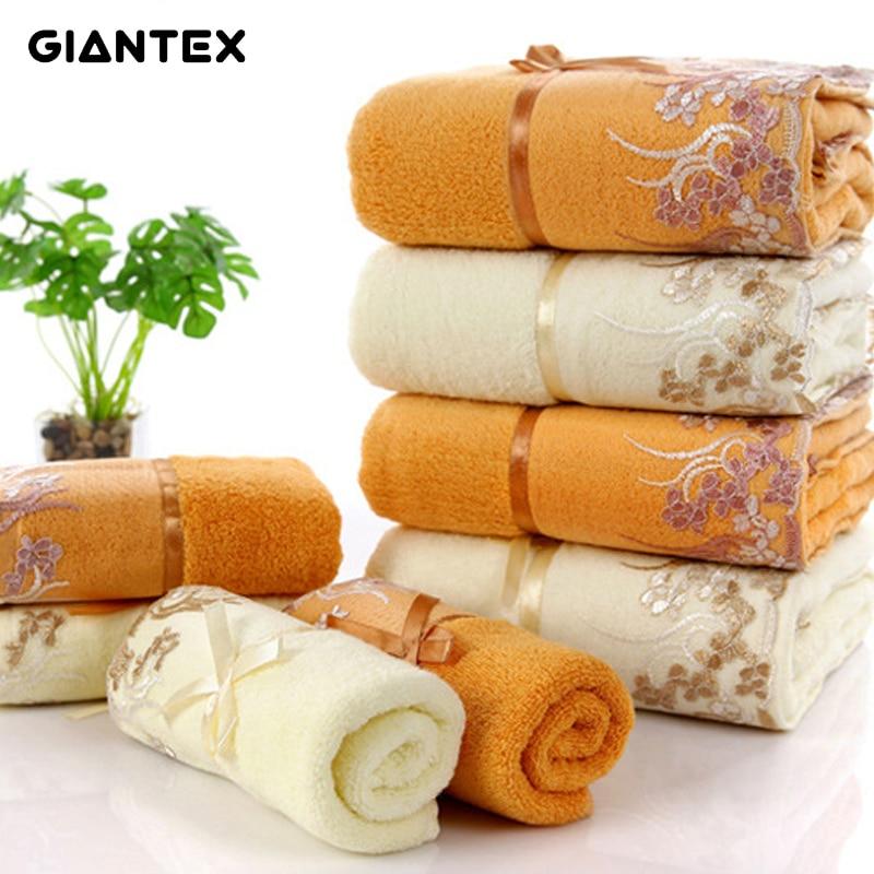 Face Towel Suppliers In Sri Lanka: Aliexpress.com : Buy GIANTEX Lace Soft Cotton Towel Set