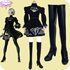 Hot Game NieR Automata 2B Shoes YoRHa No 2 Cosplay Shoes Type B Cosplay Shoes Adult