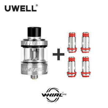 UWELL Whirl Tank Vape Tank 3.5ml & 4 Pcs Whirl Tank Coil 0.6/1.8 ohm E-cigarette sub ohm tank