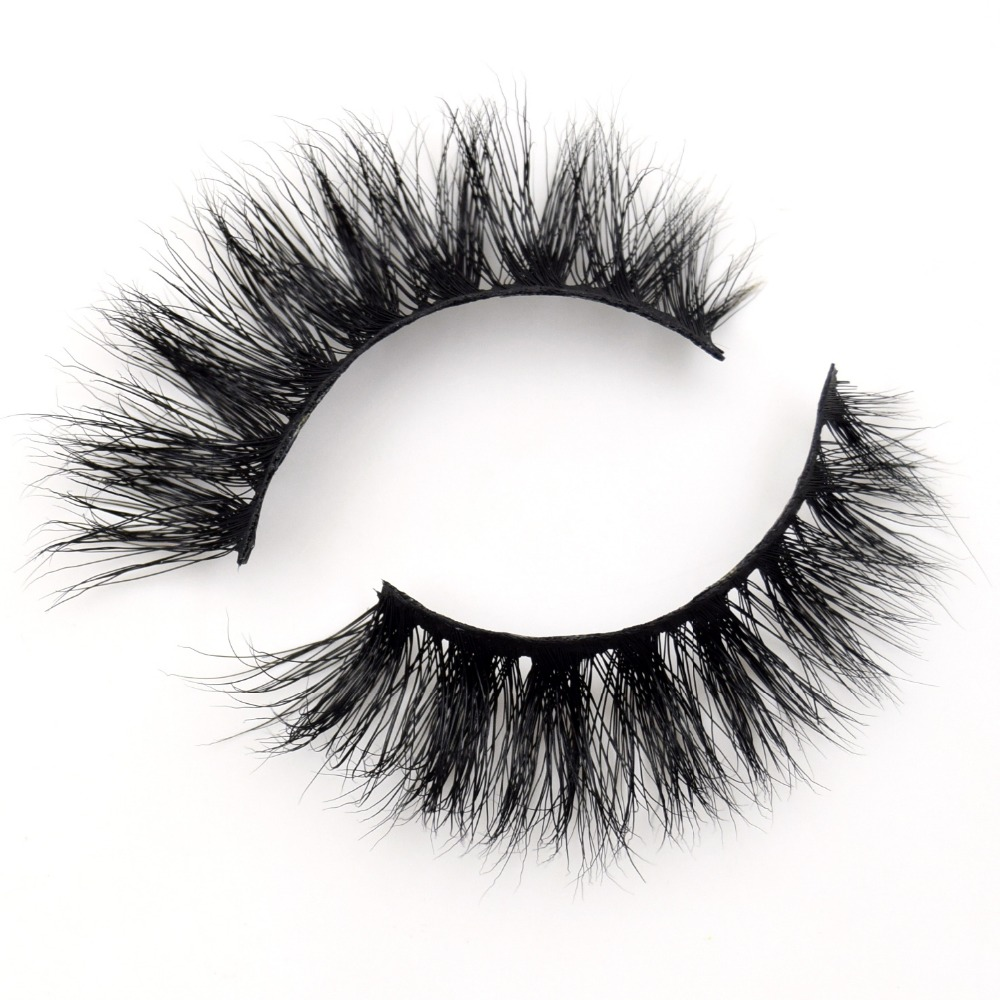 Visofree Eyelashes 3D Mink Lashes Makeup Handmade Full Strip Mink Eyelashes Soft Fluffy Eyelashes Full Volume False Eyelash E06