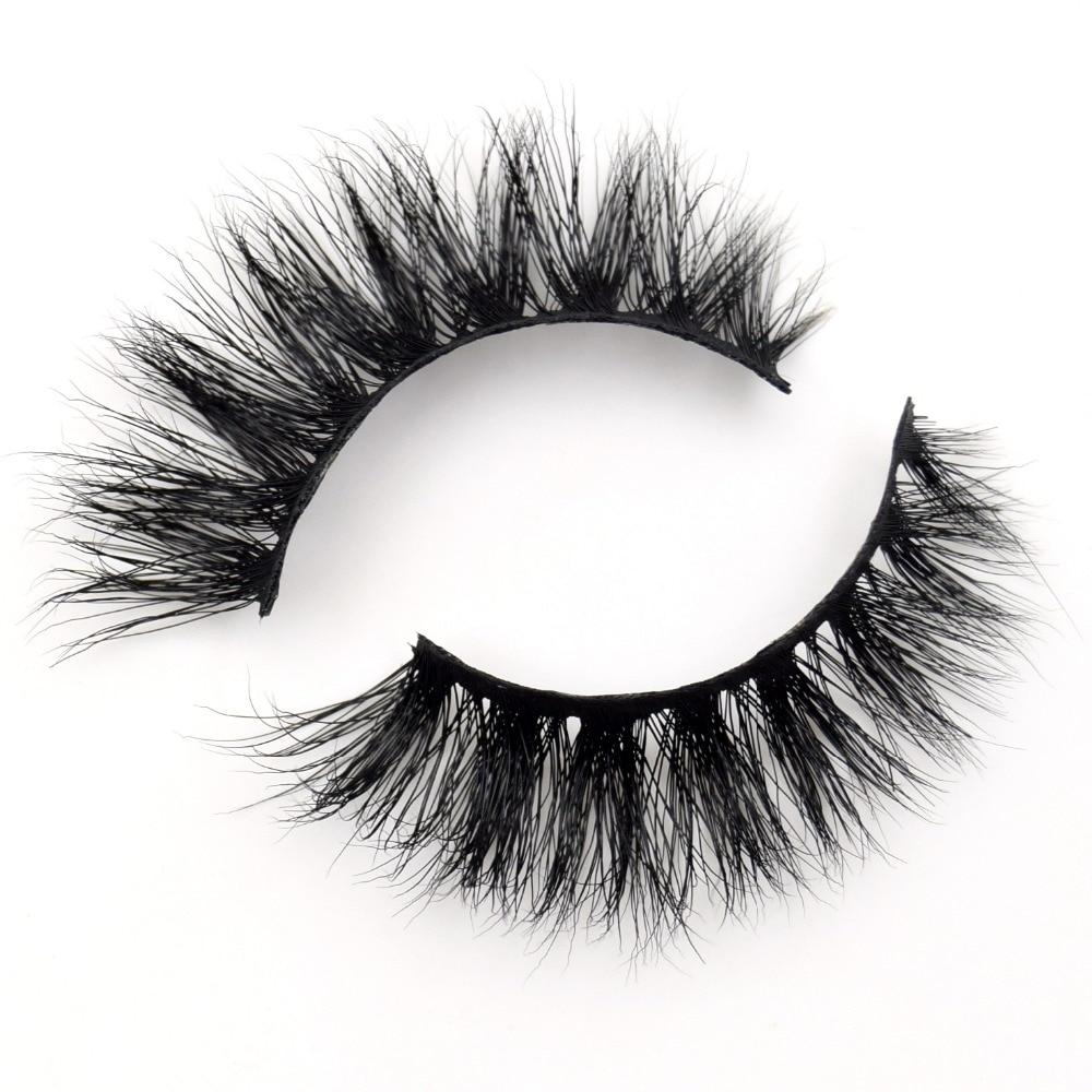 48ab4ecddde Visofree Eyelashes 3D Mink Lashes Makeup Handmade Full Strip Mink Eyelashes  Soft Fluffy Eyelashes Full Volume False Eyelash E06
